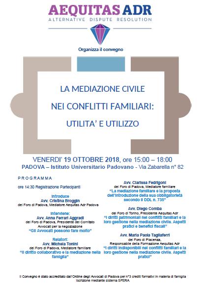 Padova famiglia 2018