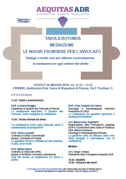 Convegno Firenze 24.5.2019