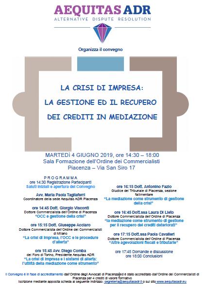 Convegno Piacenza 4.6.19