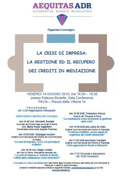 Pavia crisi impresa 14.6.19